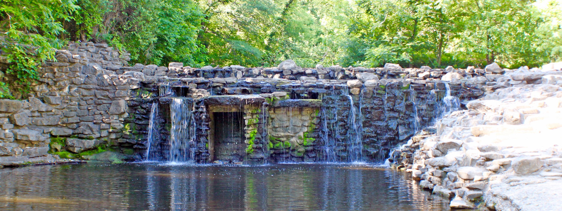 Canyon Creek HOA Waterfall